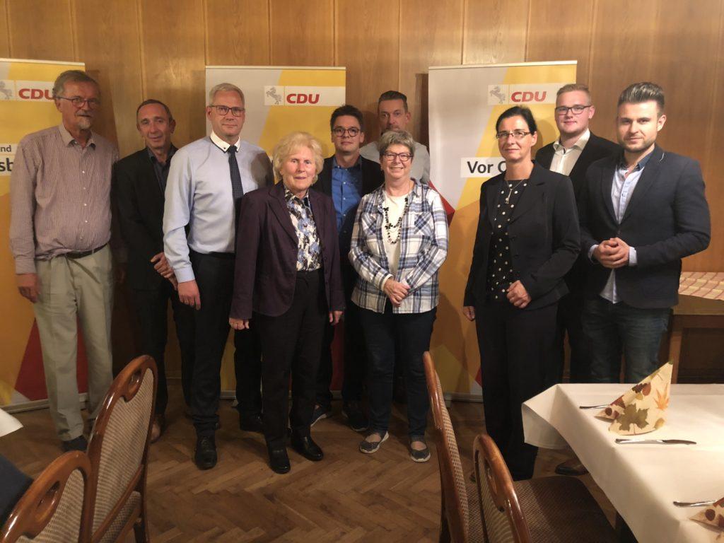 Der CDU Stadtbezirksverband Nord hat einen neuen Vorstand