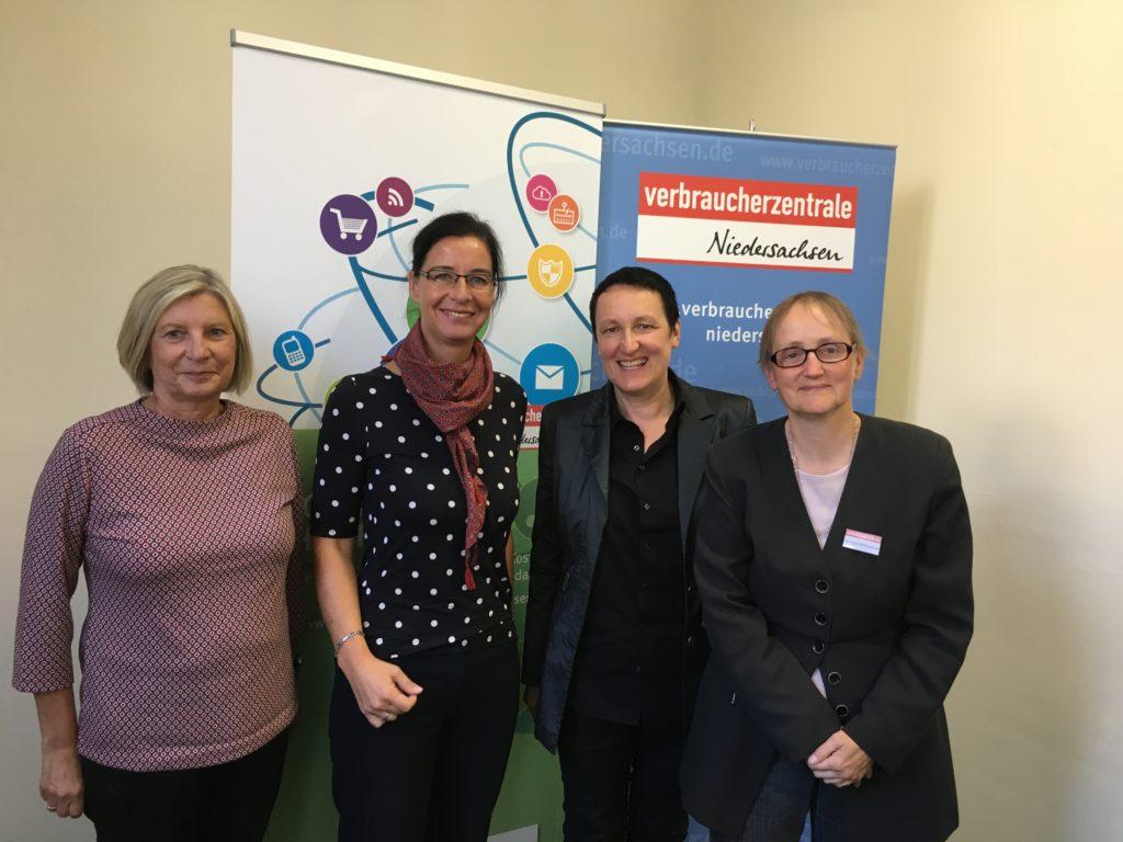 Veronika Koch besuchte die Verbraucherschutzzentrale in Wolfsburg