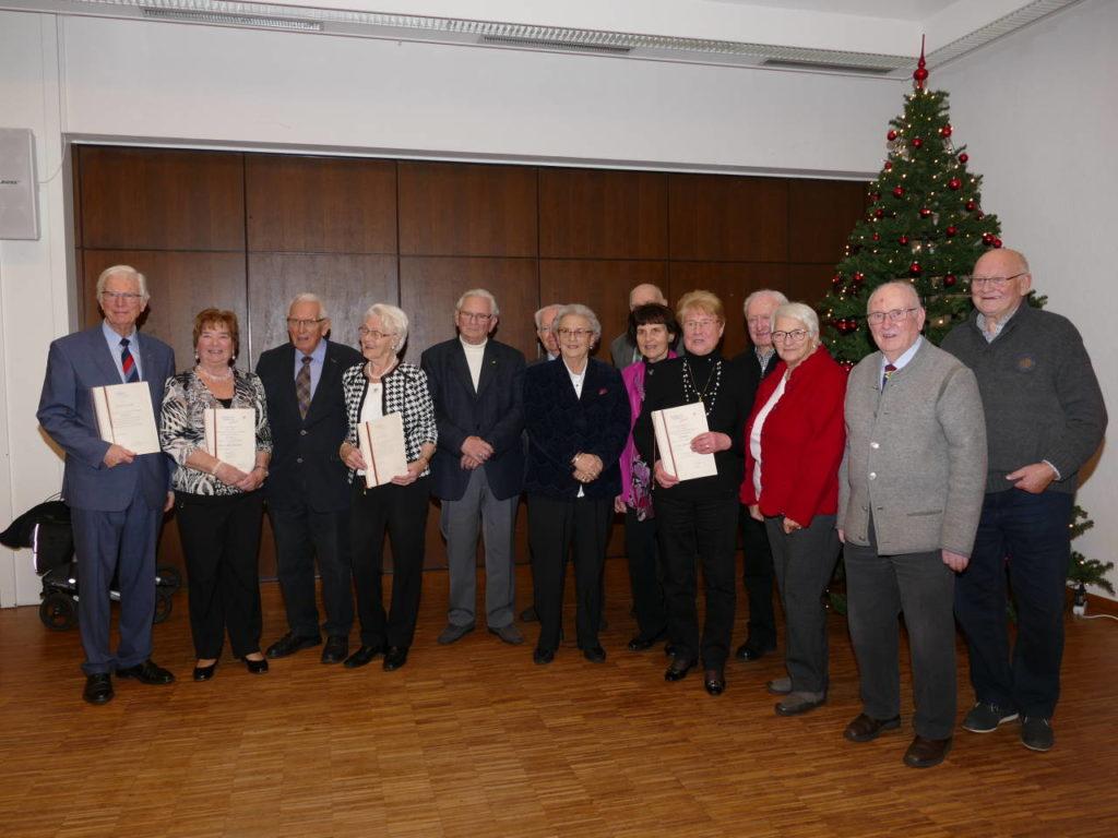 Ehrungen bei der Senioren-Union