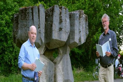 Peter Kassel und Wilfried Andacht
