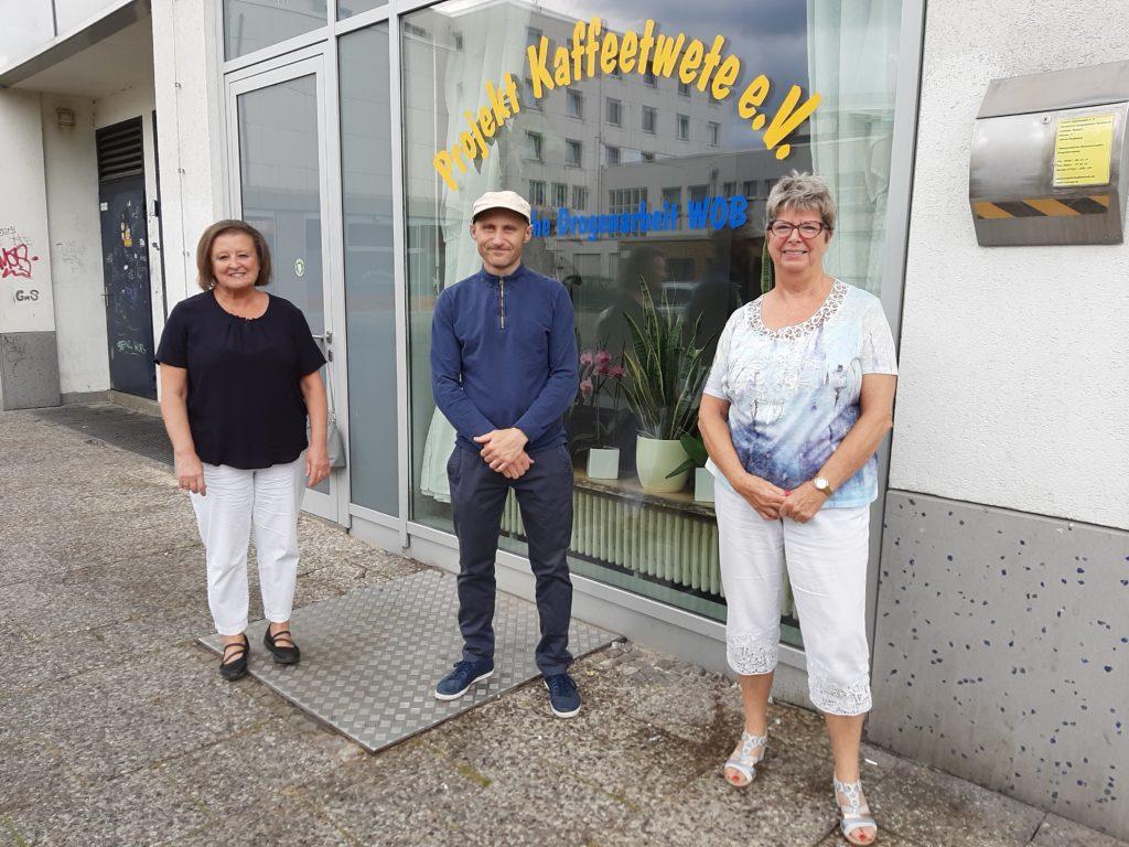 Sozialpolitikerinnen der CDU informieren sich bei der Christlichen Drogenarbeit Wolfsburg