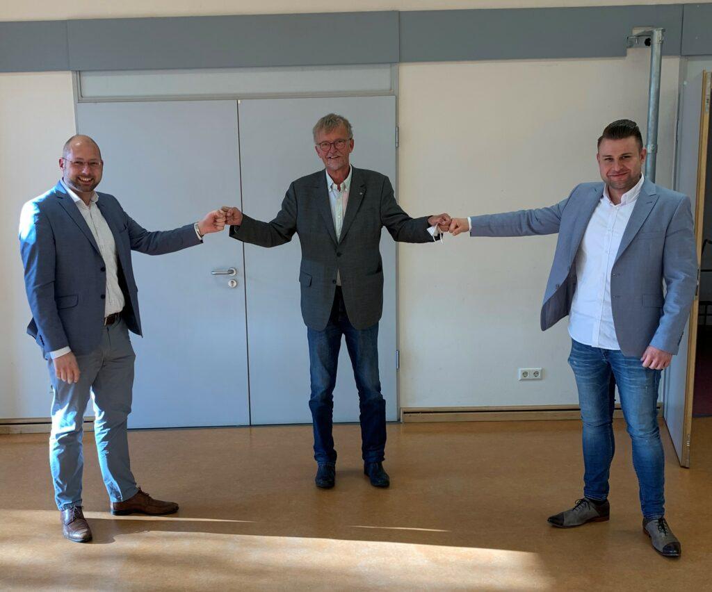 Ein starkes Team für Wolfsburgs Mitte