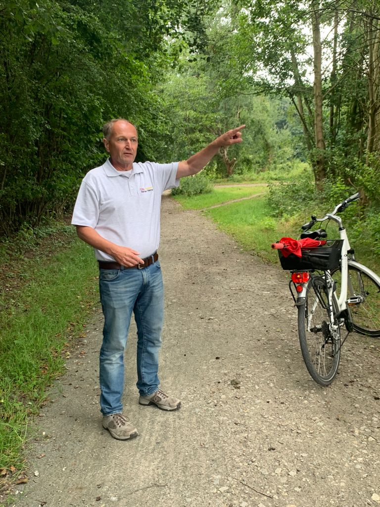 Radtour mit Dennis Weilmann durch Vorsfelde